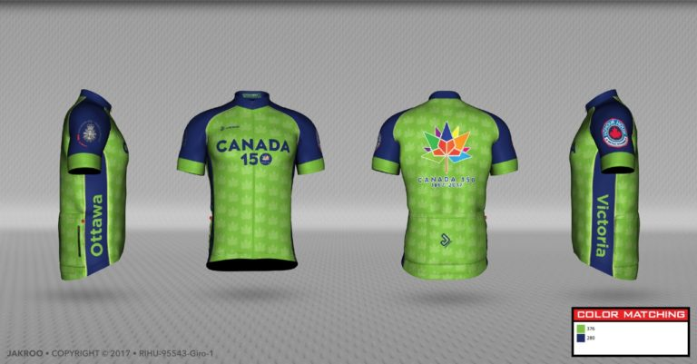 Canada 150 Jersey