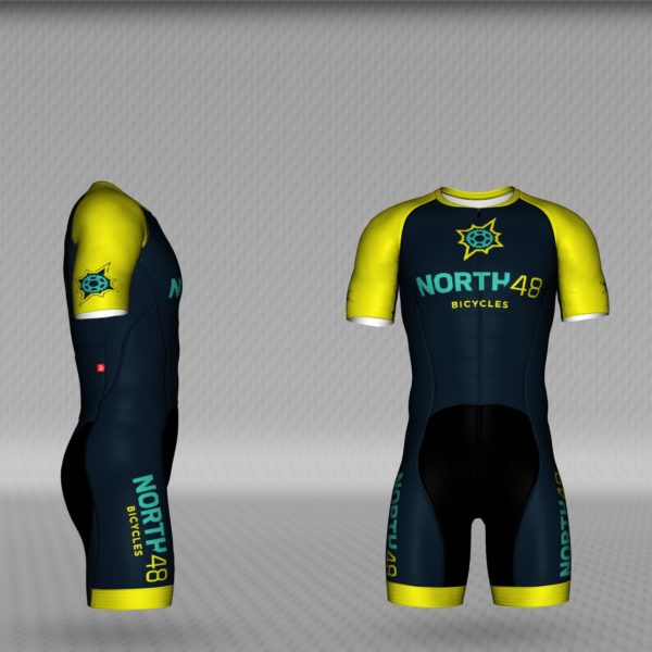 N48 Echelon Skin Suit Right View