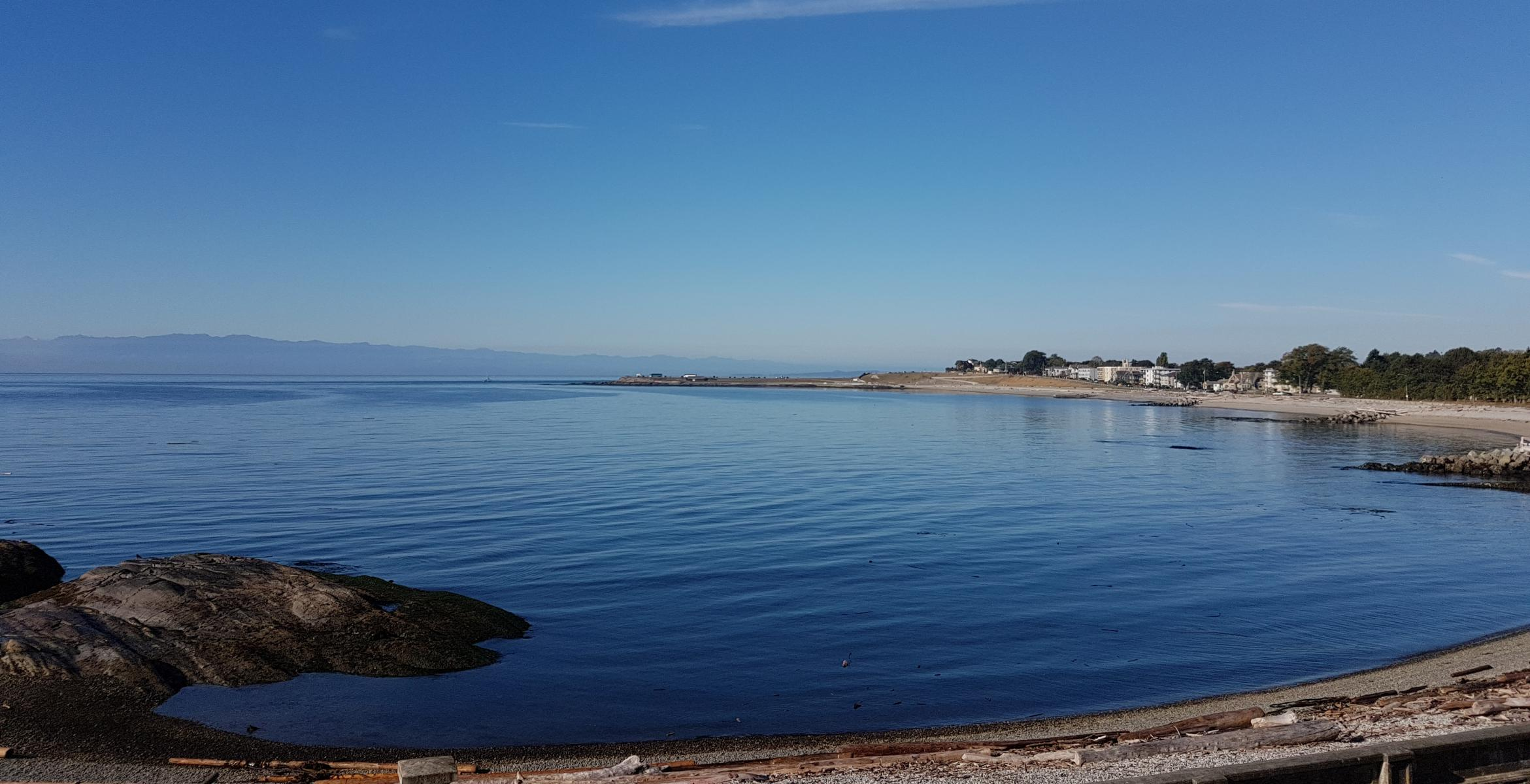 Ross Bay and Olympic Peninsula