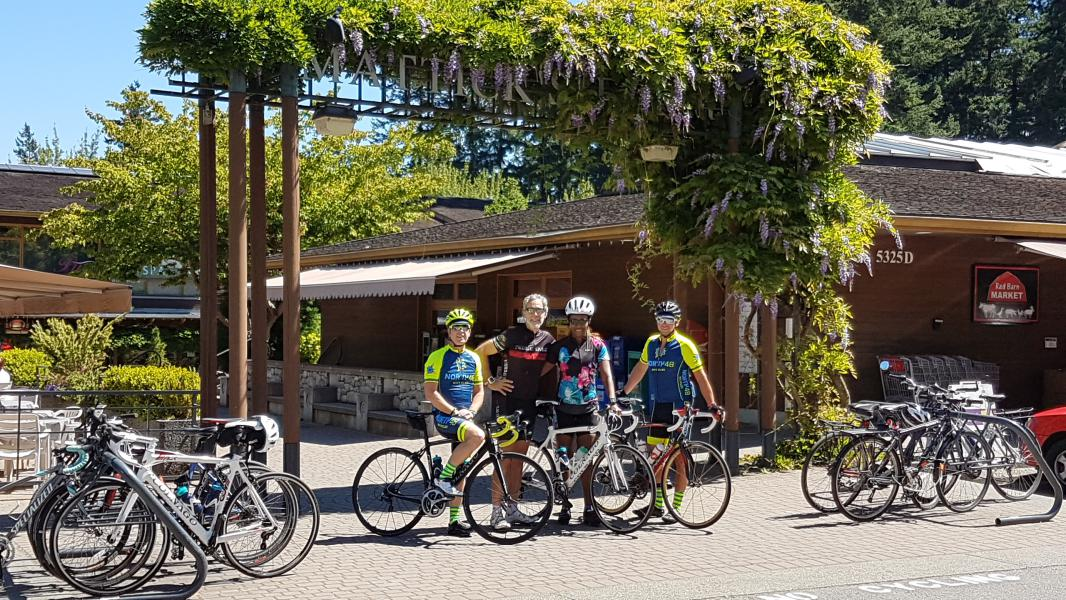 North 48 Bicycles Guided Road Bike Tour to Matticks Farm