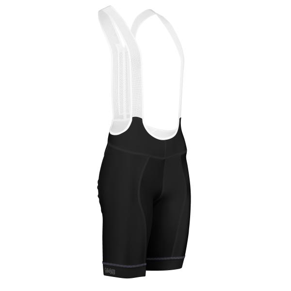 Cycling Bib Shorts Black Solar Pro