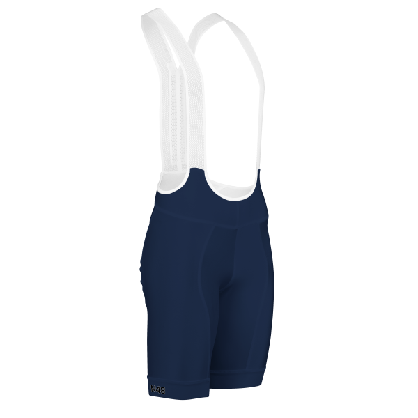 Cycling Bib Shorts Navy Solar Pro