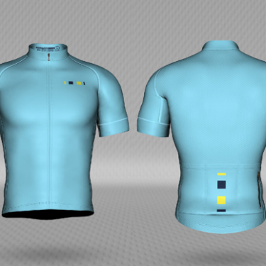 short sleeved pro-level cycling jersey