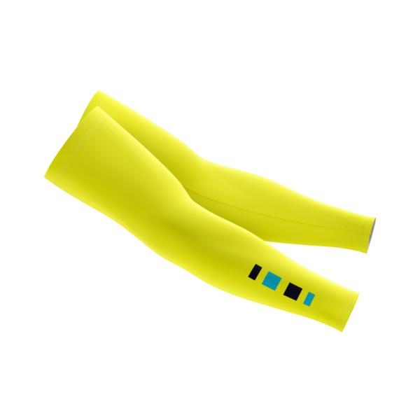 Hi Viz Yellow Arm Warmers